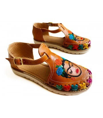 Huarache sandal Frida...