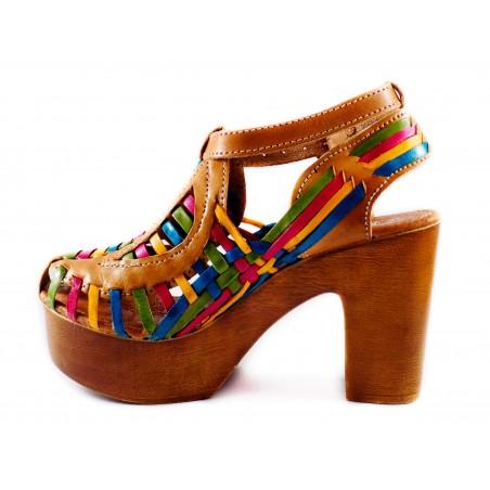 Platform Heels, sand colors