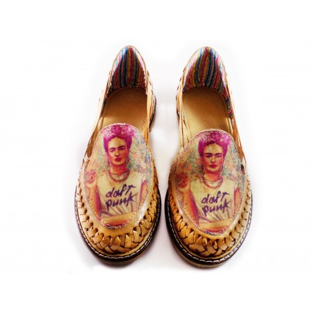 Huaraches Sandals Frida Tan