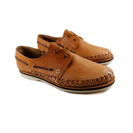 Mexican huaraches, top siders  tan