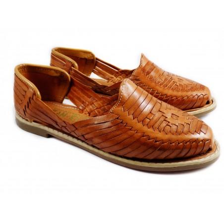 Mexican Huaraches Sandals Nut