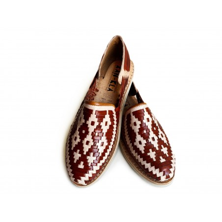 Huarache Sandals Rhombuses Oochel