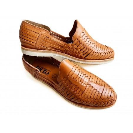Mens huarache sandal Tenoch Camel deluxe