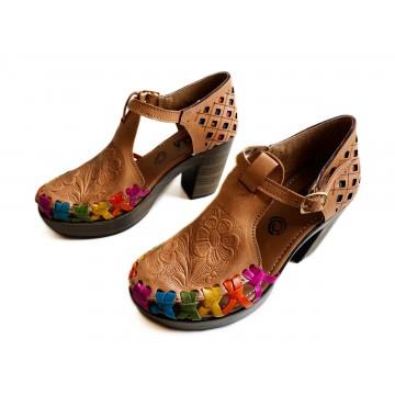Platform Heels Huaraches,...