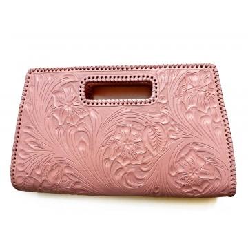 Handbag Tooled Leather,...
