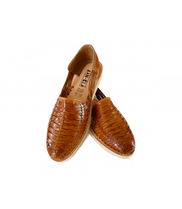 Huarache Sandals Porfirio Tan